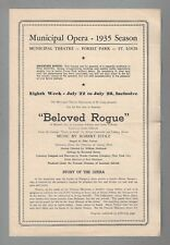"Robert Stolz ""BELOVED ROGUE"" (Venus in Silk) Jack Cole '35 FLOP Premiere Program"