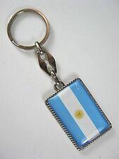 Porte-Clés Argentine Drapeau, 10 CM, Souvenir Porte-Clés