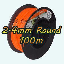 100m of Genuine STIHL 2.4mm ROUND Brushcutter Strimmer Trimmer Cord Line Wire