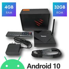 Tanix TX6s H616 4GB RAM 32GB ROM DUAL WIFI Bluetooth Android 10.0 4K 8K TV Box
