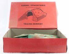 Train HORNBY FRANCE echelle O - TUNNEL DEMONTABLE
