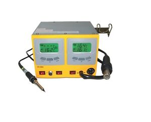 ZD-982 Professional Soldering Station for use with all type of SMD IC´s.