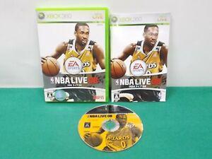 Xbox360 -- EA Sports NBA Live 08 -- JAPAN. GAME. Works fully. 57978