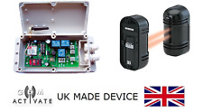 GSM Auto Dialer + IR Sensor Beam Kit - UK MANUFACTURED BY GSM ACTIVATE