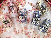 Confetti Push Pop Wedding Page Boy Flower Girl Biodegradable Petals Bridesmaid