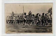 """""""BATCHES OF TURKS GOING TO THE INTERNMENT CAMP, CAIRO"""": WW1 postcard (C27824)"""