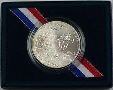 1991 U.S. Mint Korean War Commemorative UNC Silver Dollar Coin as Issued DGH