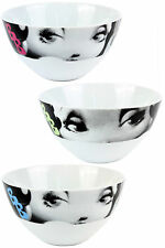 Betty Boop Ceramic Cereal Bowl, Cartoon Character Soup Bowl, Set of 3