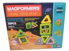 MAGFORMERS Space Traveler Set (35 Piece)