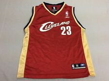 CLEVELAND CAVALIERS CAVS LEBRON JAMES REEBOK BOYS RED JERSEY YOUTH KIDS MEDIUM