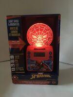 Marvel Spiderman Light Up Alarm Clock-New In Box