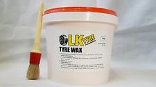 TYRE FITTING / MOUNTING WAX WITH FREE BRUSH - PREMIUM LUB / PASTE / SOAP TYRE