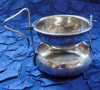 ART DECO - Tee-Sieb-Ständer - England E.P.N.S. Silber-pl. - punziert (912