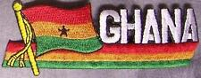 Embroidered International Patch National Flag of Ghana NEW streamer