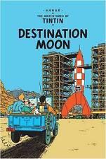 TINTIN - DESTINATION MOON Hard Back By Hedge - Brand New Book