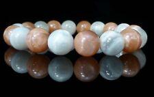 Sunstone Moonstone Bracelet Gemstone Balance Healing Chakra Crystal Reiki