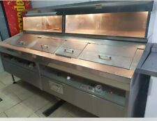 fish and chip frying range