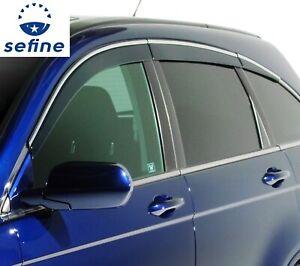 AVS 796002 Low Profile Window Vent Visor with Chrome Trim For 07-11 Honda CR-V