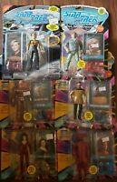 Star Trek The Next Generation Action Figures Lot Of 6 Vintage Playmates TNG RARE