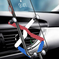 Deformed cell phone Holder Three-color Car Mobile Phone Bracket Air Conditioner