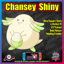 CHANSEY Ultra Shiny | Competitive Battle Ready | 6IV | Pokemon Sword Shield