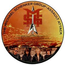 EX! MIICHAEL SCHENKER GROUP MSG UFO ASSAULT ATTACK VINYL LP PIC PICTURE DISC