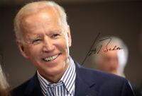 JOE BIDEN - Repro-Autogramm, 20x29 cm, 46. US Präsident, autograph, signed