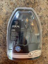 FOCAL ER5 (16.40 FT) ELITE 100% OXYGEN FREE TRIOLE SHIELD COPPER RCA WIRE