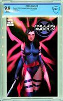 Fallen Angels #2 - Unknown / Comics Elite Exclusive - CBCS 9.8!