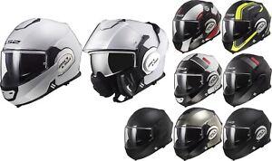 LS2 FF399 Valiant Flip up Helmet Motorcycle Or Optional Visor - Touring Urban