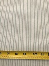 Beige and Sage Green Stripe Fabric BY THE YARD