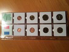 Frankrijk  UNC set    2002  1 ct t/m 2 euro  8 munten