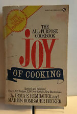 The All New All Purpose Joy of Cooking by Irma Rombauer 1st Edition 1973 Update