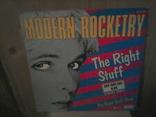 """MODERN ROCKETRY the right stuff 12"""" MAXI 45T"""