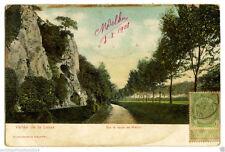 BELGIE 15.-1908 VALLEE DE LA LESSE -Sur la route de Walzin