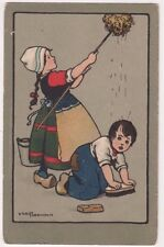Ethel Parkinson, Children, B. Dondorf Postcard, B717