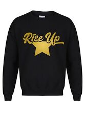 Rise Up - Unisex Sweater - Hamilton Musical Broadway Theatre Lin Manuel Jumper