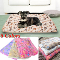 Warm Pet Mat Small Large Cat Dog Puppy Fleece Soft Blanket Cushion Bed Cover