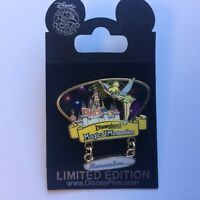 DLR - Magical Memories - Sleeping Beauty Castle - Tinker Bell - Disney Pin 58385