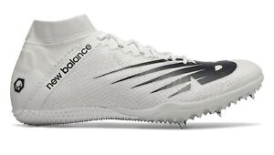 NEW BALANCE WOMEN'S TRACK SPIKE RUNNING SHOES SIZE 8.5 White SD100
