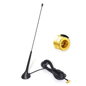 DAB DAB+ FM AM Car Radios Aerial Magnetic Base Antenna SMB Female with 3M Cable