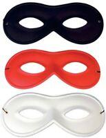4X Black Zorro Domino Mask Robber Bandit Halloween Super Hero Book Week Mask