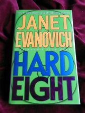"Janet Evanovich - HARD EIGHT (""Stephanie Plum"" mystery) - 1st - INSCRIBED"