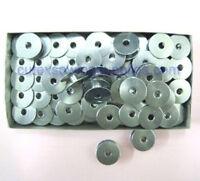 100 Aluminum M Size Bobbins For TIN LIZZIE 18 Quilting Machines