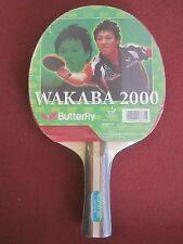 Butterfly Wakaba 2000 Ping Pong Paddle Table Tennis Racket