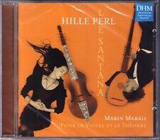 Hille PERL Marin MARAIS Pour la Violle et Théorbe Viola da Gamba CD Lee SANTANA