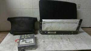 94 95 Deville Seville Eldorado Air Bag Set Wheel Dash Module OEM 16176558 Black