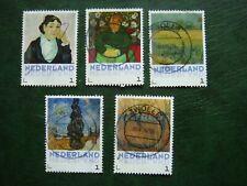 5 persoonlijke zegels  Vincent van Gogh  gebruikt