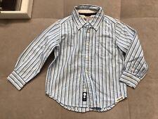 Baby Gap Boys Dress Shirt Size 4 Toddler Blue White