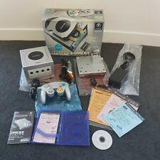 Nintendo GameCube Console Enjoy Plus Pack Silver +Game Boy Player +more! NTSC-J